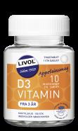 Livol D vitamin 10μg tyggetablet