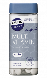Livol Multivitamin 50+ 150 stk