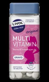 Livol Multivitamin Gravid 150stk.