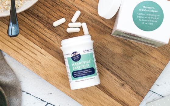 Livol mælkesyrebakterier med zink og c vitamin