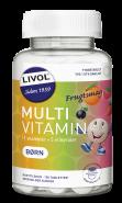 Livol Multivitamin Børn frugtsmag