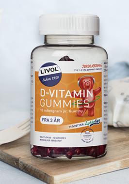 anbefalinger om D vitamin fra Fødevarestyrelsen